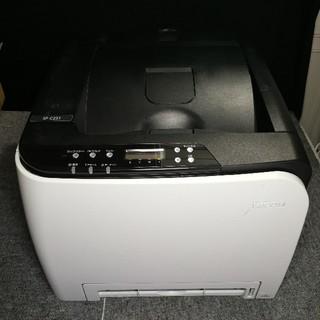 リコー(RICOH)の★印刷 4243枚 リコー A4カラーレーザープリンタ RICOH  C251(PC周辺機器)