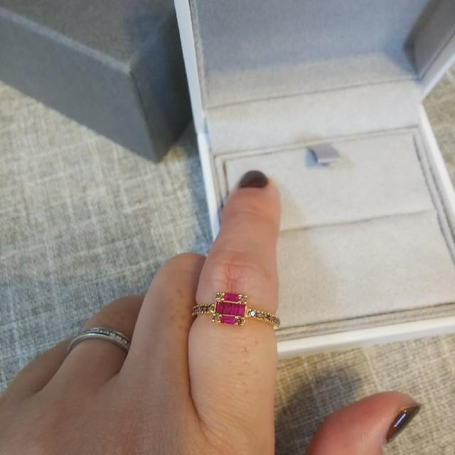 agete(アガット)の15日(金)で出品終了ベルシオラ⭐️リング9号    レディースのアクセサリー(リング(指輪))の商品写真