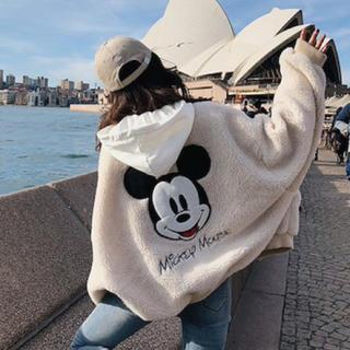 ディズニー(Disney)のボアブルゾン ミッキー(ブルゾン)