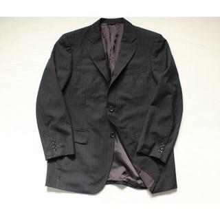 ダーバン(D'URBAN)のJ542★ダーバン ロロピアーナ メンズ ジャケット ストライプ AB5黒(テーラードジャケット)