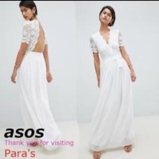 エイソス(asos)のASOS マキシドレス(ウェディングドレス)