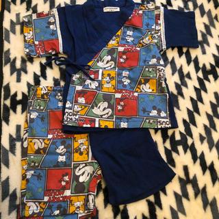 ディズニー(Disney)のミッキー 甚平 90(甚平/浴衣)