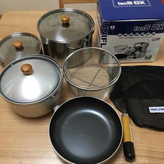 ユニフレーム(UNIFLAME)のユニフレーム ライスクッカー  fan5 DX(調理器具)