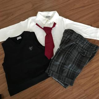 シマムラ(しまむら)の80cm 正装 ネクタイ付き(ドレス/フォーマル)