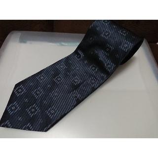 ダーバン(D'URBAN)の良品 ダーバン ネクタイ 濃紺系スクエア柄 シルク100%(ネクタイ)