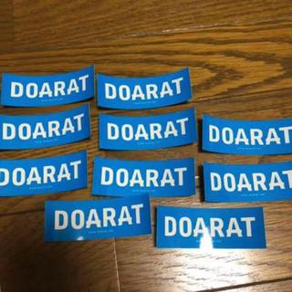 ドゥアラット(DOARAT)の非売品 DOARAT ステッカー(その他)