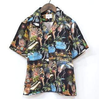 クライミー(CRIMIE)の新品同様 CRIMIE クライミー VEGAS アロハシャツ 黒 S(シャツ)