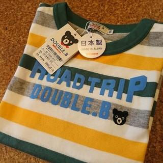 ダブルビー(DOUBLE.B)のリンママさん専用 ★新品★ミキハウスダブルビー Tシャツ100(Tシャツ/カットソー)