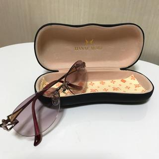 ハナエモリ(HANAE MORI)のHANAE Mori ハナエ モリ サングラス(サングラス/メガネ)