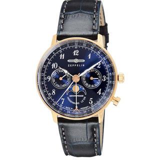 ツェッペリン(ZEPPELIN)のツェッペリン メンズ 腕時計   定価5.7万円(腕時計(デジタル))