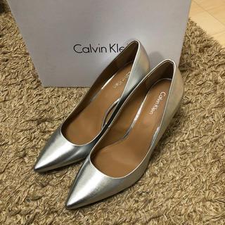 カルバンクライン(Calvin Klein)のカルバンクライン パンプス 24.5cm 美品(ハイヒール/パンプス)