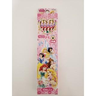 ディズニー(Disney)の新品 ディズニープリンセス 2Bかきかた12本入り(鉛筆)