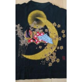カラクリタマシイ(絡繰魂)の日本昔ばなし ロンティー(Tシャツ/カットソー(七分/長袖))