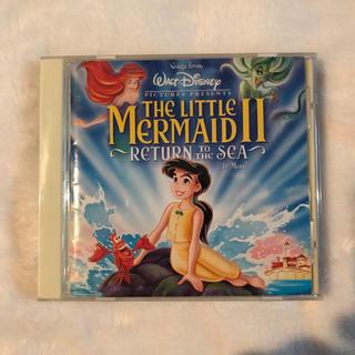ディズニー(Disney)の◾︎ ディズニー『リトルマーメイド2/リターントゥザシー』サントラCD(映画音楽)