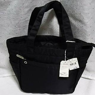 シマムラ(しまむら)の新品   pbi ナイロントートバッグ  ブラック(トートバッグ)
