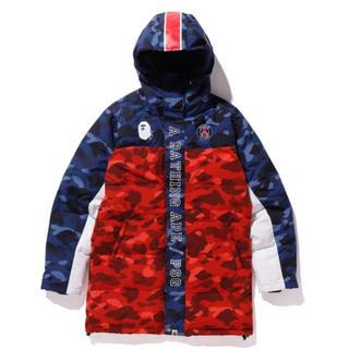 アベイシングエイプ(A BATHING APE)のa bathing ape psg down jacket XL (ダウンジャケット)