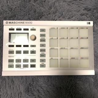 【緊急値下げ】MASCHINE MIKRO MK2 White マシーン 白(MIDIコントローラー)
