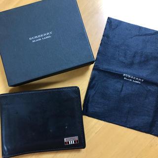 バーバリーブラックレーベル(BURBERRY BLACK LABEL)のBurberry ブラックレーベル 二つ折り財布(折り財布)