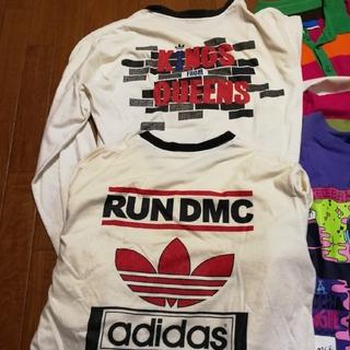 アディダス(adidas)の【ktk様専用】RUN DMC adidas ロングTシャツ2枚(その他)