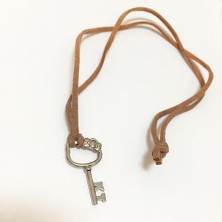 ハローキティ(ハローキティ)のキティ 鍵型ペンダント(ネックレス)