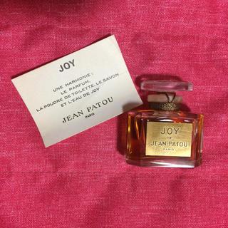 ジャンパトゥ(JEAN PATOU)の未開栓 JOY 香水 15ml パルファム(香水(女性用))
