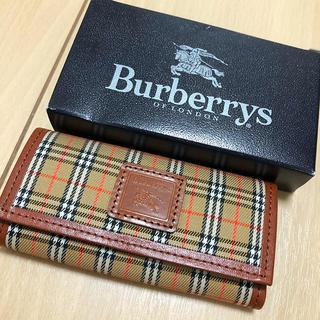バーバリー(BURBERRY)の新品!バーバリー キーケース(キーケース)