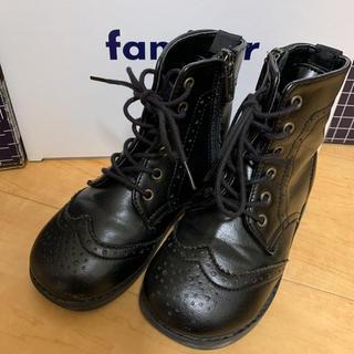 ファミリア(familiar)のfamiliar ショートブーツ 16㎝(ブーツ)