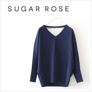 ドレスレイブ(DRESSLAVE)の新品♡定価11880♡Sugar Rose  vvドルマンベルトデザインニット(ニット/セーター)
