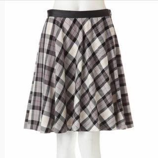 プロポーションボディドレッシング(PROPORTION BODY DRESSING)のプロポーションボディードレッシング♡チェックフレアスカート(ひざ丈スカート)
