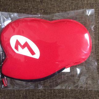 ニンテンドー3DS(ニンテンドー3DS)の非売品 クラブニンテンドー マリオポーチ  3DS(キャラクターグッズ)