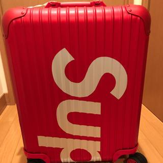 シュプリーム(Supreme)のシュプリーム×リモワ 確認用(トラベルバッグ/スーツケース)