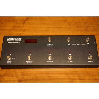 【超美品】RJM MASTER MIND Midi フットコントローラー (MIDIコントローラー)