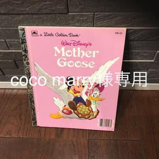 ディズニー(Disney)のディズニー 英語 絵本 Mother Goose(洋書)