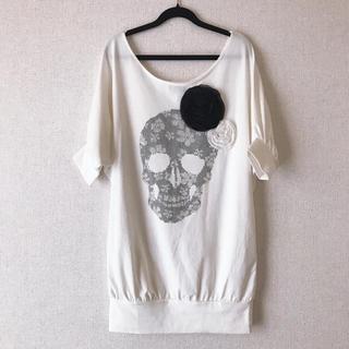 ジェーアイマックス(Ji.maxx)のJi.maxx ドルマン スカル Tシャツ(Tシャツ(半袖/袖なし))
