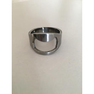 栓抜き オープナー 指輪 リング シルバー アクセサリー おもしろグッズ (リング(指輪))