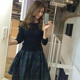 ラグナムーン(LagunaMoon)のラグナムーン  チェックスカート(ひざ丈スカート)