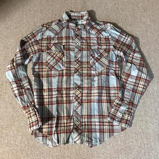 エム(M)のチェックネルシャツ チェックシャツ M(シャツ)