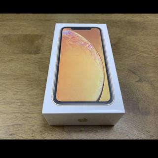 アップル(Apple)の[新品] ドコモ SIMロック解除済 iPhone XR 64GB  イエロー (スマートフォン本体)