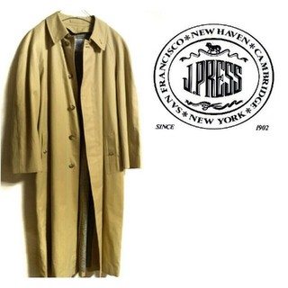 バーバリー(BURBERRY)の【早い者勝ち】J.PRESS 春 ロングコート(ステンカラーコート)