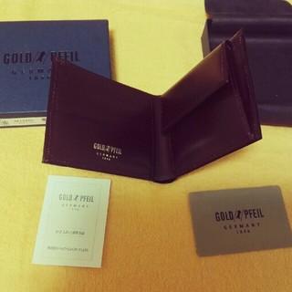 ゴールドファイル(GOLD PFEIL)のゴールドファイル財布、コイン入れ付き(財布)