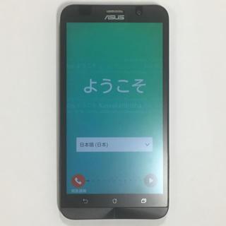 エイスース(ASUS)のzenfone2 simフリー 別売の着せ替えカバー&箱付き(スマートフォン本体)