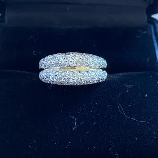 ファッションリング イエローゴールド ダイヤ(リング(指輪))
