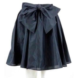 ニーナミュウ(Nina mew)のNinamew/ニーナミュウ/リボンギャザースカート(ミニスカート)