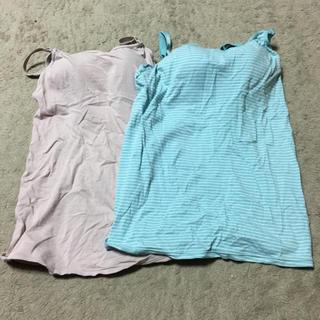 ムジルシリョウヒン(MUJI (無印良品))のkiikii 様専用 無印良品 授乳服 ブラトップ(マタニティ下着)