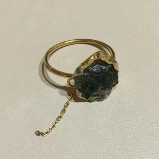 アメリヴィンテージ(Ameri VINTAGE)のAmeriVINTAGE 天然石リング(リング(指輪))