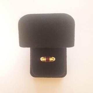 ティファニー(Tiffany & Co.)のティファニー バケット ルビーリング(リング(指輪))