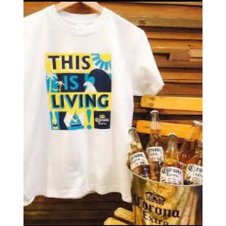 コロナ(コロナ)の【非売品】コロナ ビール Tシャツ (Tシャツ/カットソー(半袖/袖なし))