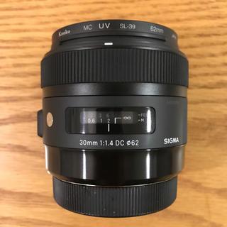 シグマ(SIGMA)の【まあ様お取置き】SIGMA 30mm F1.4 ARTレンズ CANON用(レンズ(単焦点))