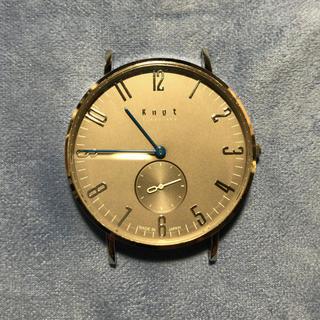 ノットノット(Knot/not)のknot 限定時計 CS-36 シリアルナンバー付き(腕時計(アナログ))