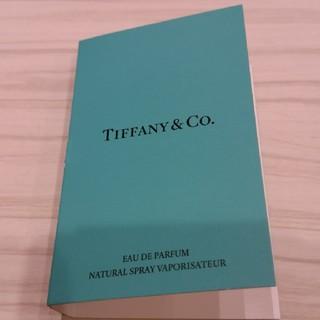ティファニー(Tiffany & Co.)のティファニー 香水 サンプル(香水(女性用))
